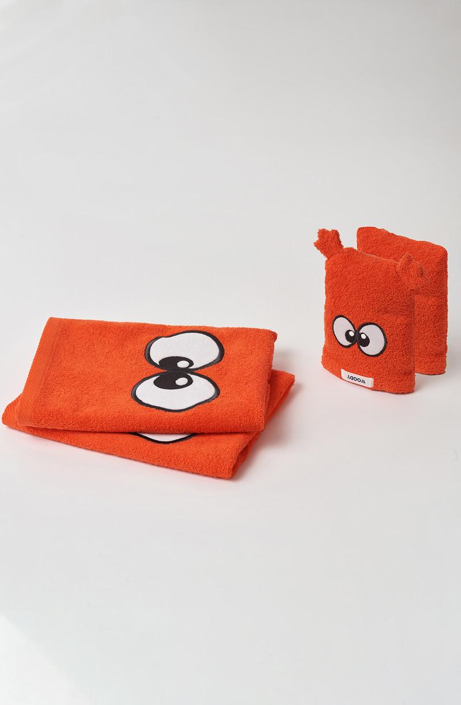Woody Handdoek, rood
