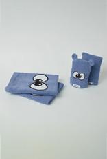 Woody Handdoek, blauw