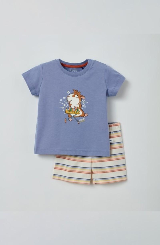 Woody Unisex pyjama, blauw