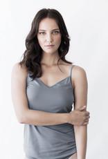Woody Straptop for women, grey-blue