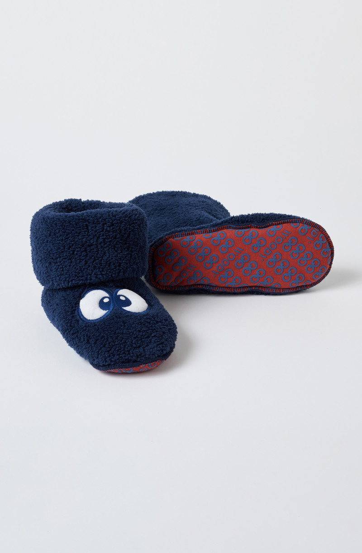 Woody Pantoffels, donkerblauw