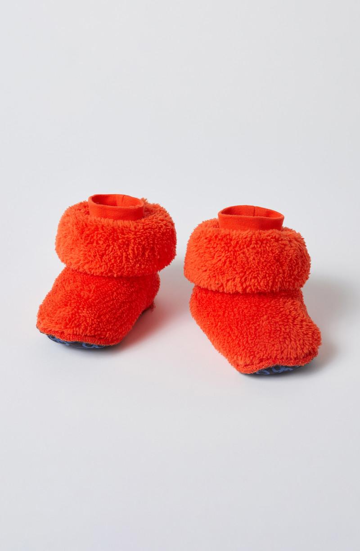 Woody Pantoffels, oranjerood