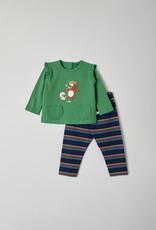 Woody Meisjes pyjama, groen