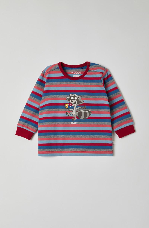 Woody Jongens pyjama, multicolor gestreept