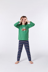Woody Unisex pyjama, groen
