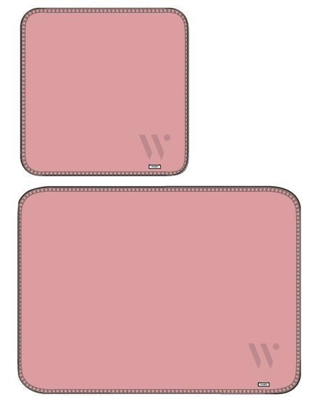 Woody Plaid, roze