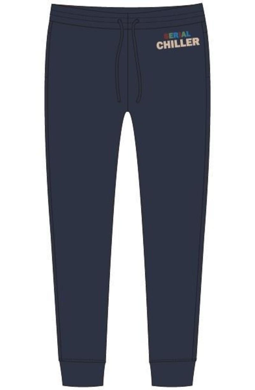 Woody Jongens-Heren broek, donkerblauw