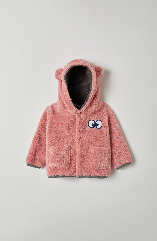 Woody Unisex jas, roze