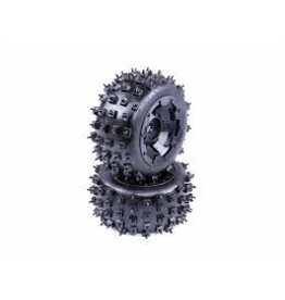 Rovan Sports Knobby tire set with nails (2pcs/set) MT Tyre 170x80 spike banden