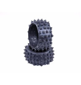 Rovan Sports Knobby tyre set with nails Outdside MT-Tyre 170x80 2pcs.