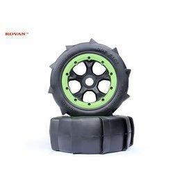 RovanLosi LT tire desert Sandbuster 190x70 (2pc.)