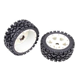 Rovan 5B front terrian tyres set with nylon hub AIT 170x60 (2pcs.)