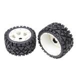Rovan Sports 5B rear terrian tyres set with nylon hub AIT 170x80 (2pcs.)