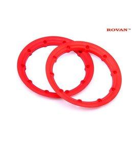 RovanLosi Big beadlock rings (2pcs) - Felgenringe