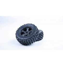 RovanLosi LT Gen.3 knobby tyres with inside cloth and upgraded waterproof foam MT-Tire 180x70 (2Pcs)