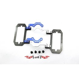 GTBRacing Losi 5ive-T stranghten throttle servo mount with carbon fiber