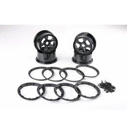 Rovan New wheel hubs, beadlocks kit (Gen. 4)
