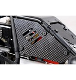 Rovan 5B baha carbon fiber body windows set / carbon ramen set