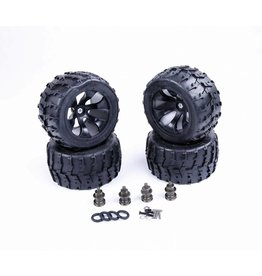 RovanLosi Losi / Buggy 4WD wheel complete set 200x100 including extentions