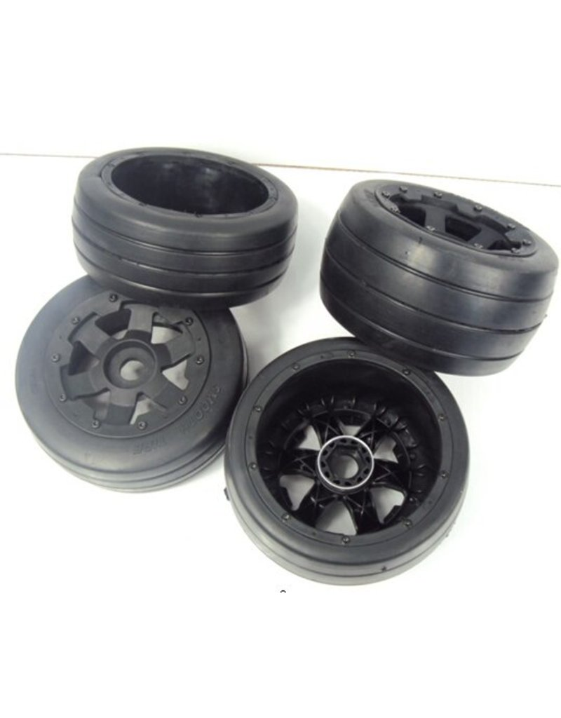 Rovan Sports 5B Slicks / Whole set of new road tyres (4pcs) 170x60 en 170x80