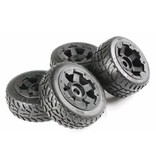 Rovan 5B whole set of new road tires (4pcs) 170x60 + 170x80
