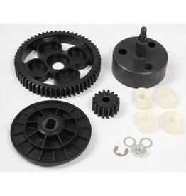 Rovan Sports New clutch cup high torque metal gear set 16/58