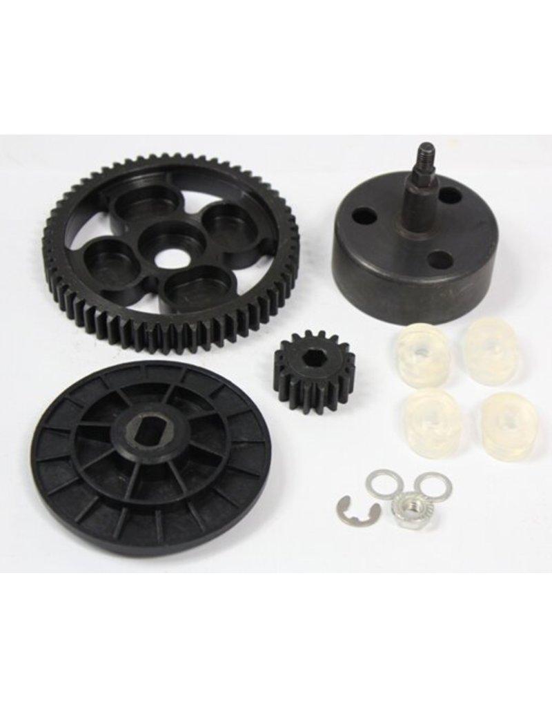Rovan New clutch cup high torque metal gear set 16/58