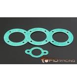 FIDRacing No asbestos material differential gear gasket (4pcs)