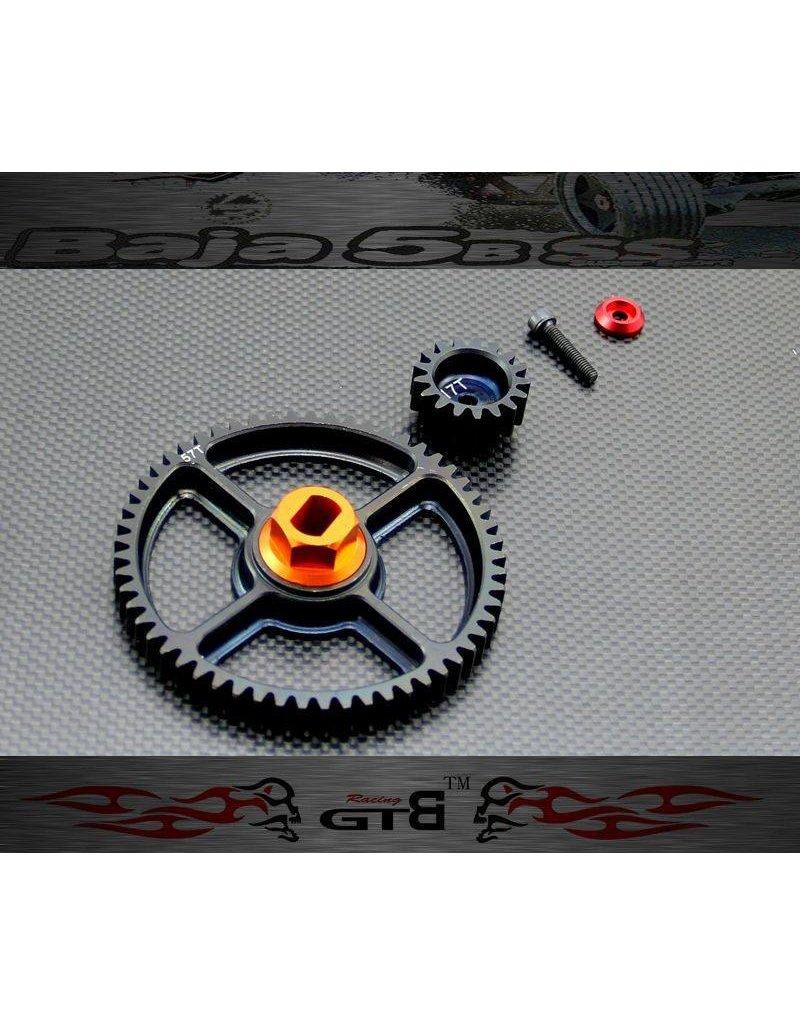 GTBRacing CNC 57th & 17th gear