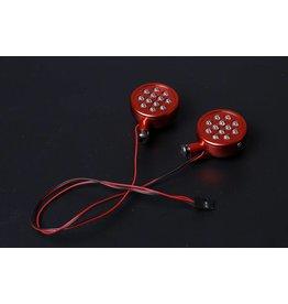 Rovan Sports Baha CNC koplampjes in zilver of rood
