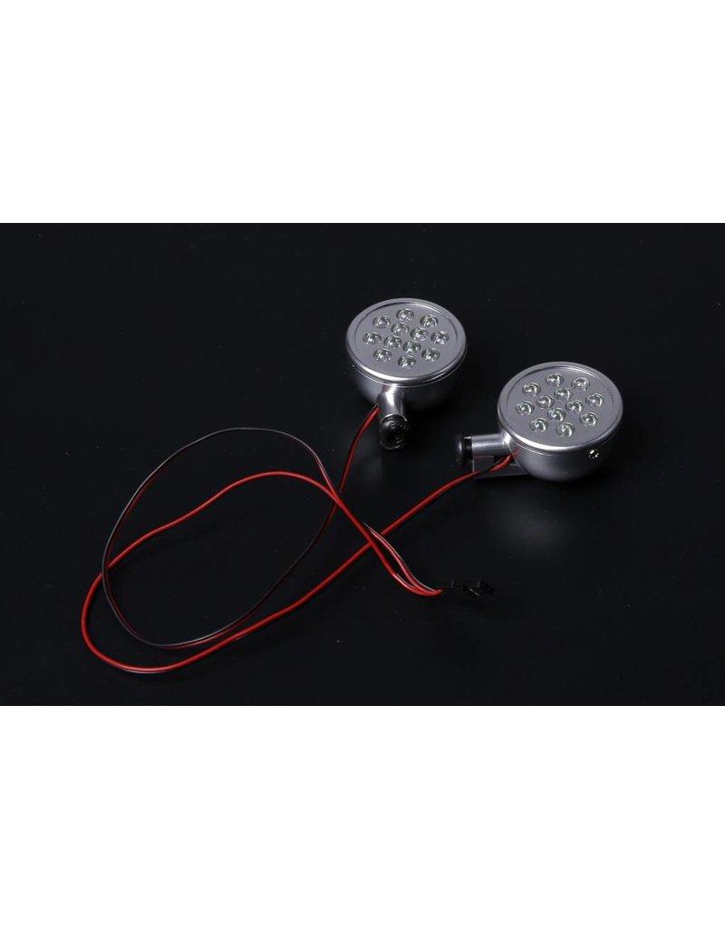 Rovan Sports Baha CNC koplampjes in zilver of oranje