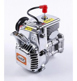 Rovan Chrome R360 36cc 4 bolt engine with easily start and Walbro 1107 + NGK