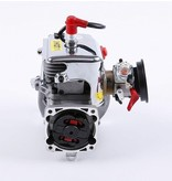 Rovan Sports Chrome R360 36cc 4 bolt engine with easily start and Walbro 1107 + NGK