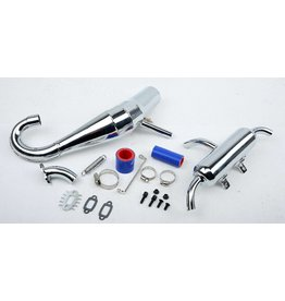 RovanLosi LT Silencer horn exhaust pipe set fits Rovan LT and Losi 5ive T