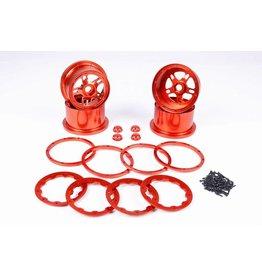 Rovan Sports CNC Alloy Wheels hubs sets / aluminium wiel set