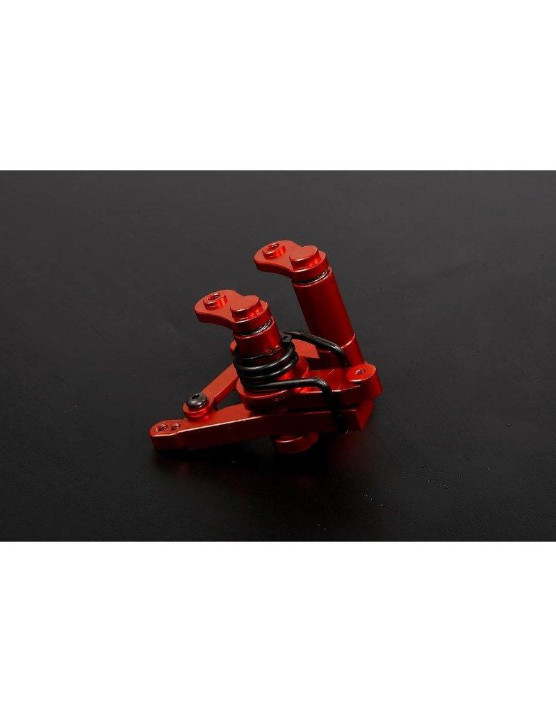 Rovan CNC  Aluminum Complete Heavy Duty Steering Arm, Wiper arm, servo saver kit