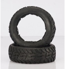 Rovan 5T/5SC Front on road tire (2pc.) Tarmac Buster II 195x75