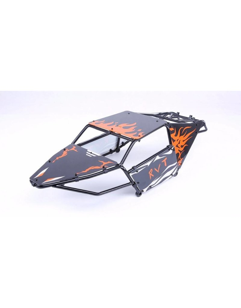 Rovan Sports Mooie panelen voor rolkooi buggy met oranje of groene tint, LET OP ALLEEN DE PANELEN NIET DE ROLKOOI