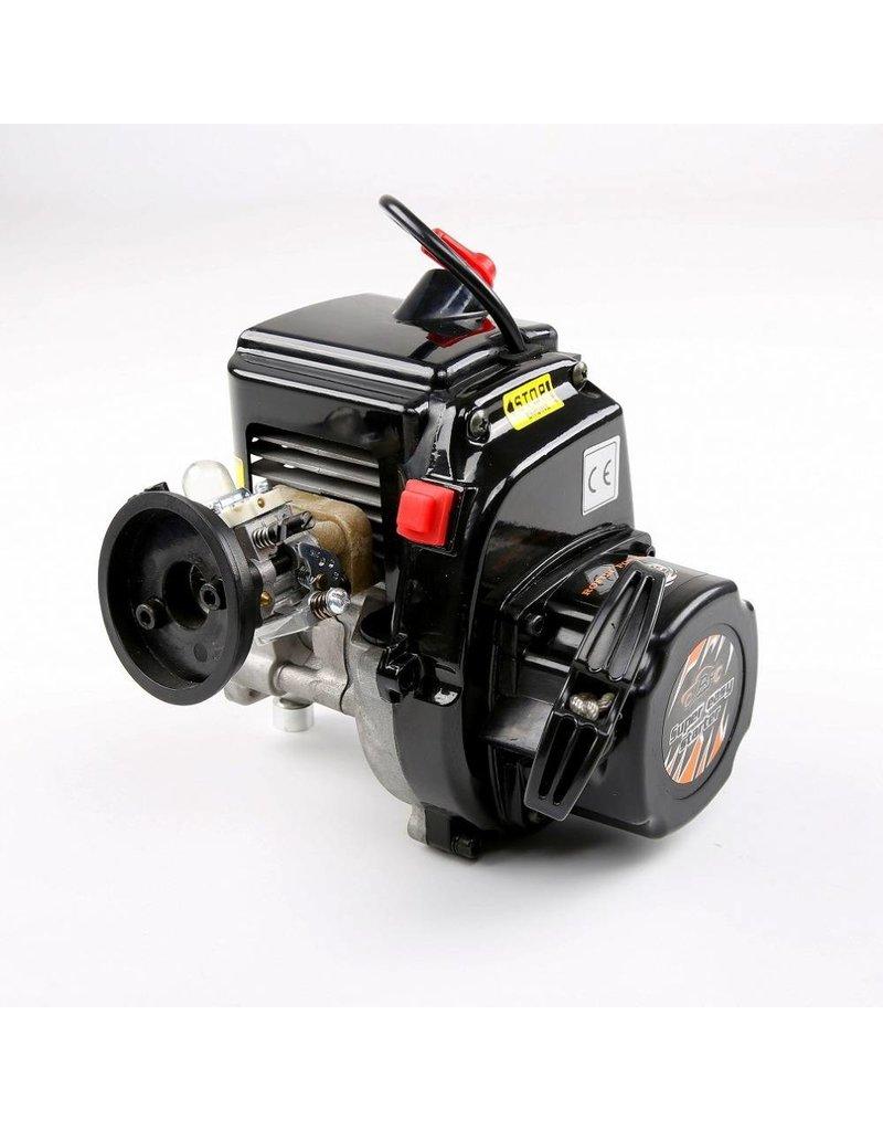 Rovan 45cc 4-bouts motorblok met easy pull trekstarter en 1107 Walbaro carb. en NGK bougie