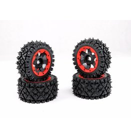Rovan Baha a/t nail tire 4 pieces complete 170x80+170x60