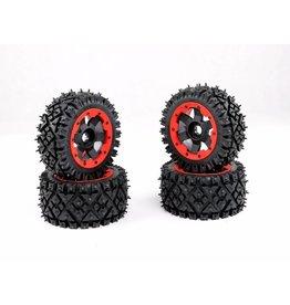 Rovan Sports Baha a/t nail tire 4 pieces complete 170x80+170x60