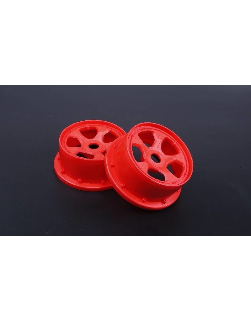Rovan 5B New Gen.4 High strength nylon front wheel hub set