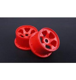 Rovan 5B New Gen.4 High strength nylon rear wheel hub set