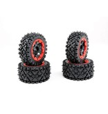 Rovan Sports Baha a/t spijkerband 4 stuks compleet 170x80+170x60