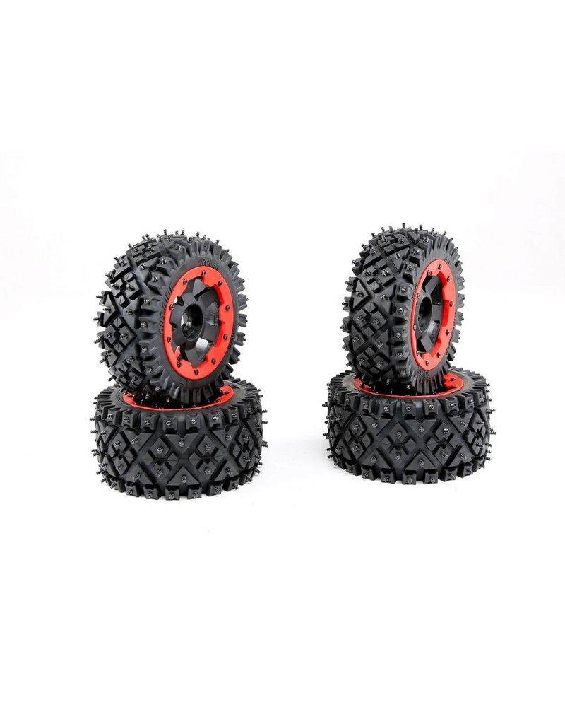 Rovan Baha a/t spijkerband 4 stuks compleet 170x80+170x60