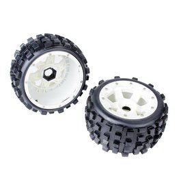 Rovan 5B Rear knobby tyres set with nylon hub 170x80 (2pcs)