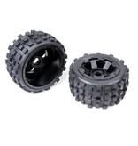 Rovan Knobby wheel set(2pcs/set) with heavy-duty beadlock ring