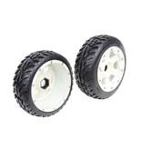 Rovan 5B new front road tyre set with nylon hub Rovan Buster II 170x60 (2pcs)