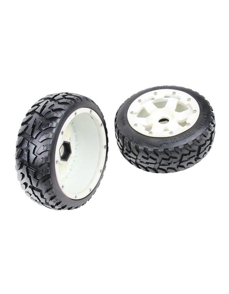 Rovan Sports 5B new front road tyre set with nylon hub Rovan Buster II 170x60 (2pcs)