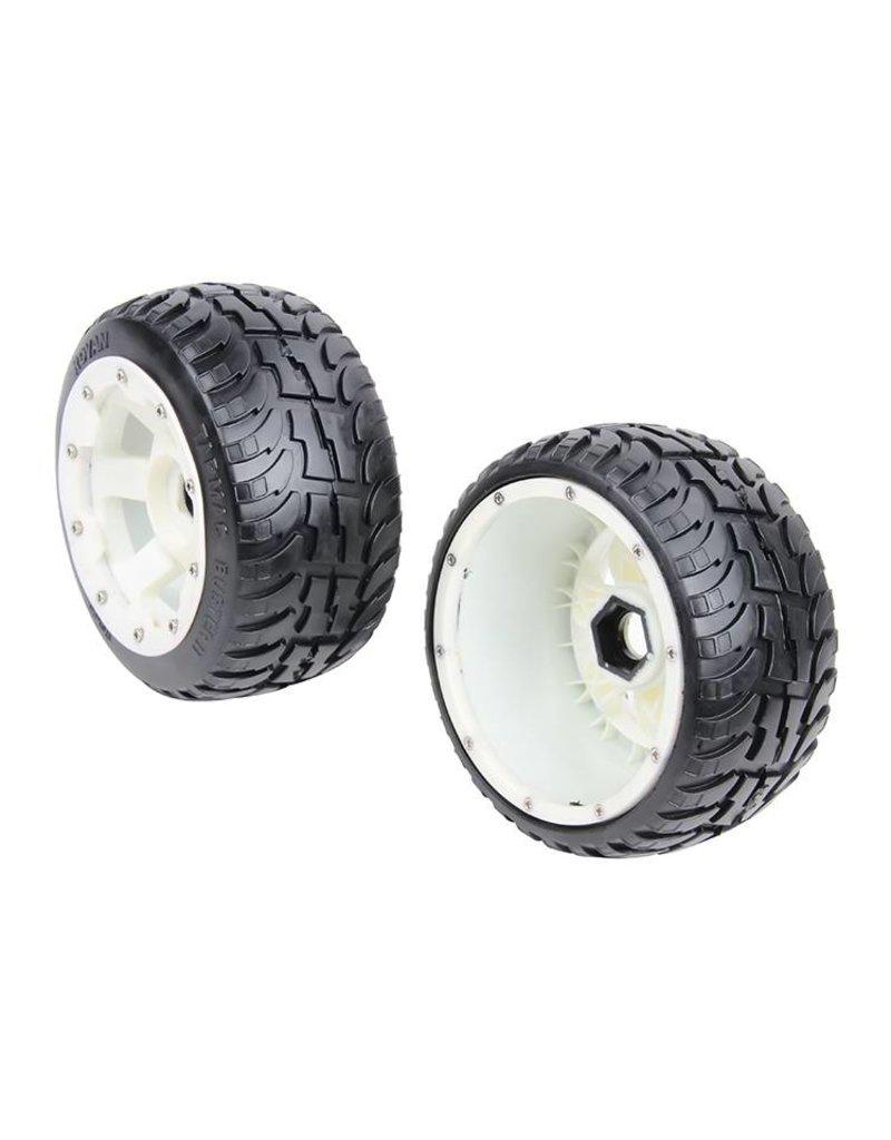 Rovan Sports 5B new rear road tyre set with nylon hub Tarmac Buster II 170x80 (2pc)